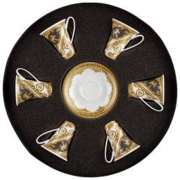 Versace I Love Baroque Set 6 Tazze Espresso con Piattino