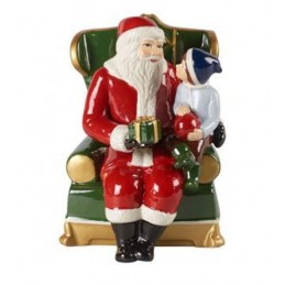 Villeroy & Boch Christmas Toy's Santa in Armchair