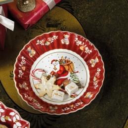 Villeroy & Boch Toy's Fantasy Large Bowl Santa on Rooftop