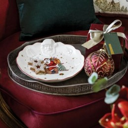 Villeroy & Boch Toy's Fantasy Bowl with Santa Relief