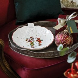 Villeroy & Boch Toy's Fantasy Bowl with Snowman Relief