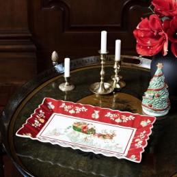 Villeroy & Boch Toy's Fantasy Piatto Dessert Rett. Giro in Slitta