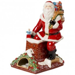 Villeroy & Boch Christmas Toys Memory Santa on the Roof