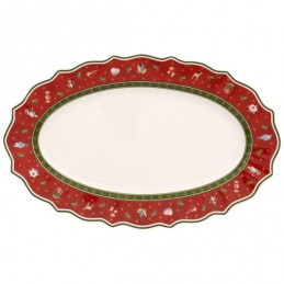 Villeroy & Boch Toy's Delight Piatto Ovale Medio 38 x 23, 5 cm