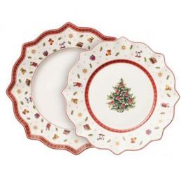 Villeroy & Boch Toy's Delight Set of Plates White, 8 Pcs
