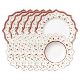 Villeroy & Boch Toy's Delight Set Piatti 8 Pz Bianco