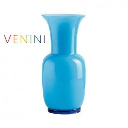 Venini Vaso Opalino Acquamare, Medio H 36 cm 706. 22