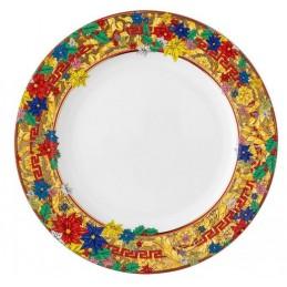 Versace Rosenthal Holiday Alphabet Plate 22 cm