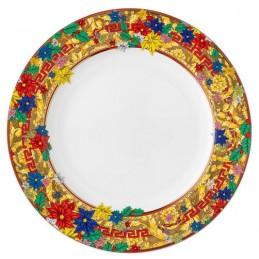 Versace Rosenthal Holiday Alphabet Plate 27 cm