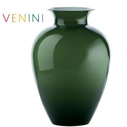 Venini Labuan Vase Large Apple Green H 38. 5 cm Murano Glass