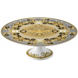 Versace Rosenthal Prestige Gala Platter on Foot Small 33 cm