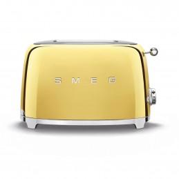 Smeg 2 Slice Toaster Gold 50's Retro Style Aesthetic