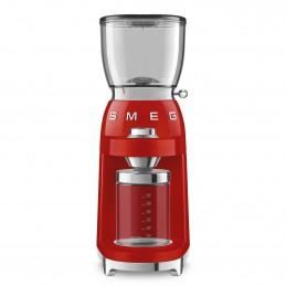 Smeg Macinacaffe Rosso, Estetica Anni 50