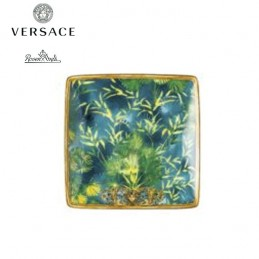 Versace Rosenthal Jungle Coppetta Quadrata 12x12 cm 11940-403708-15253