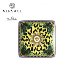 Versace Rosenthal Jungle Animalier Coppetta Quadrata 12 x 12 cm