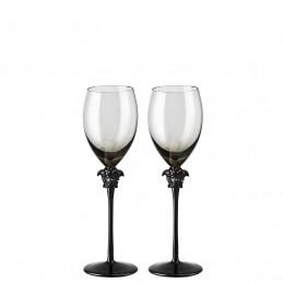 Versace Medusa Lumiere Haze Set 2 Calici Vino Bianco