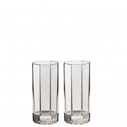 Versace Rosenthal Medusa Lumiere Haze Set of Two Longdrink Glass