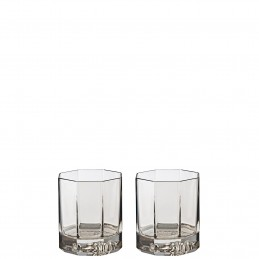 Versace Rosenthal Medusa Lumiere Haze Set of Two Whisky Glass
