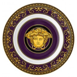 Versace Rosenthal Medusa Colours Plate 18 cm Medusa Marine