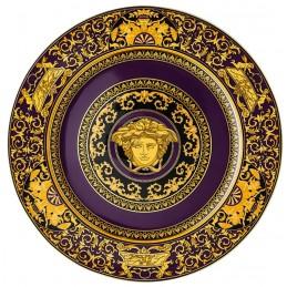 Versace Rosenthal Medusa Colours Plate 30 cm Medusa Marine