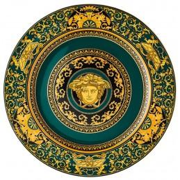 Versace Medusa Colours Piatto 30 cm Medusa Junipier 19300-403711-10230