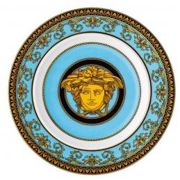 Versace Rosenthal Medusa Colours Plate 18 cm Medusa Celeste