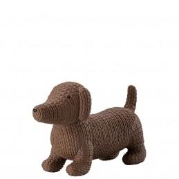 Rosenthal Pets Large Dog Alfonso Macaroon H 9 cm