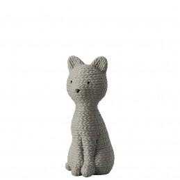Rosenthal Pets Gatto Medio Smokey Stone H 11, 50 cm cm