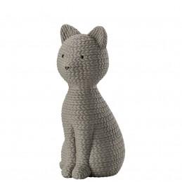Rosenthal Pets Large Cat Smokey Stone H 15 cm