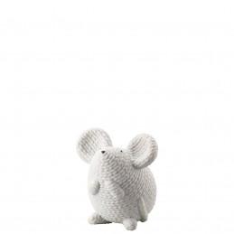 Rosenthal Pets Medium Mouse Elvis White H 7, 5 cm