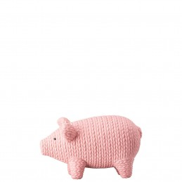 Rosenthal Pets Medium Pig Alley Rosè H 6 cm