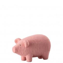 Rosenthal Pets Large Pig Alley Rosè H 7, 50 cm