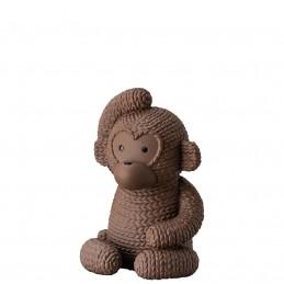 Rosenthal Pets Large Monkey Gordon Macaroon H 11, 50 cm