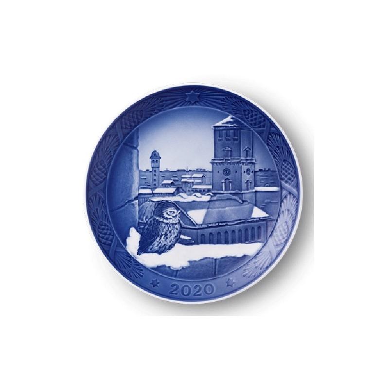 Royal Copenhagen Christmas Plate 2020