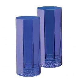 Versace Medusa Lumiere Blue Set 2 Bicchieri Longdrink