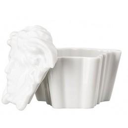 Versace Rosenthal Gypsy White Box H 7. 5 cm