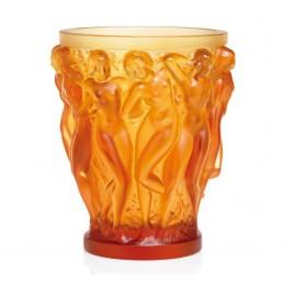 Lalique Vaso Bacchantes Ambra Edizione Numerata Ref. 1220020