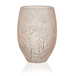 Lalique Ombelles Medium Vase Gold Luster Crystal Ref.10550700