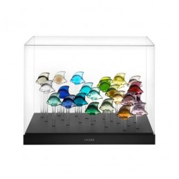 Lalique Acquario Pesci con 25 Pesci inclusi Ref.10589500
