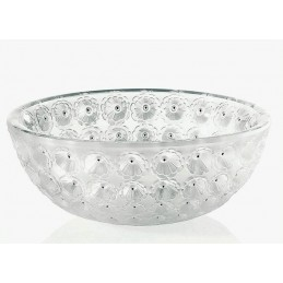 Lalique Nemours Bowl Clear Crystal Ref. 1101000