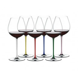 Riedel Fatto a Mano Old World Pinot Noir Set 6 Pezzi Ref.7900-07P