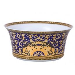 Versace Rosenthal Medusa Blue Salad Bowl 25 cm