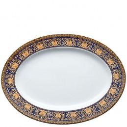 Versace Rosenthal Medusa Blue Platter 34 cm