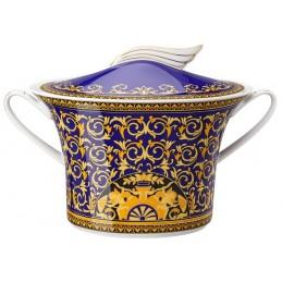 Versace Rosenthal Medusa Blue Soup Tureen 2, 30 l