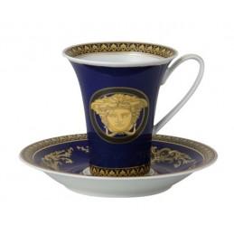 Versace Medusa Blue Tazza Caffè Alta 0, 18 l