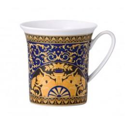 Versace Rosenthal Medusa Blue Mug with Handle 0, 35 l