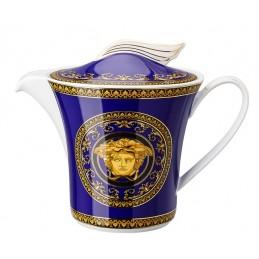 Versace Rosenthal Medusa Blue Teapot