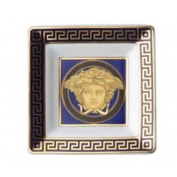 Versace Rosenthal Medusa Blue Tray 8 cm