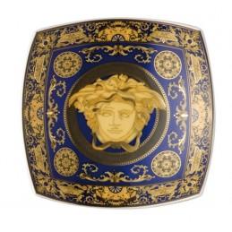 Versace Rosenthal Medusa Blue Dish 18 cm Ref. 12116-409620-25818