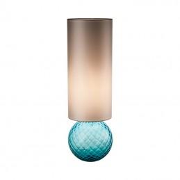 Venini Balloton Lamp Aquamarine 845.11 with Lampshade